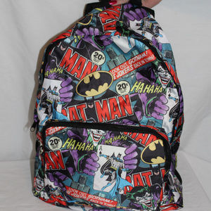 Set of Two  Marvel & DC  Bags New